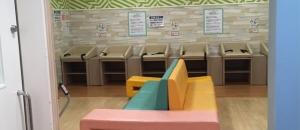 キッズリパブリック幕張新都心店(2階 赤ちゃん休憩室)の授乳室・オムツ替え台情報