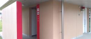 桜の森公園 多楽側トイレのオムツ替え台情報