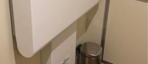 mont-bell御徒町店 だれでもトイレ(1F)のオムツ替え台情報