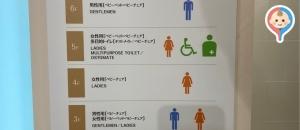 無印良品 新宿ぺぺ(7F)のオムツ替え台情報