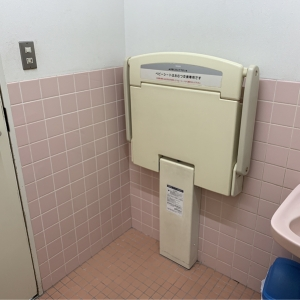トイレ内 おむつ台