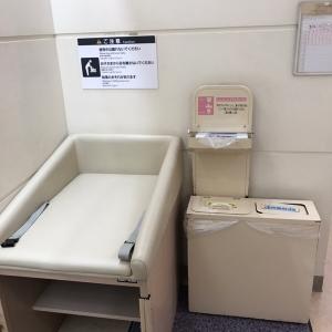 イオンレイクタウンmori(イオンスタイルレイクタウン女子トイレ)(2F)のオムツ替え台情報 画像1