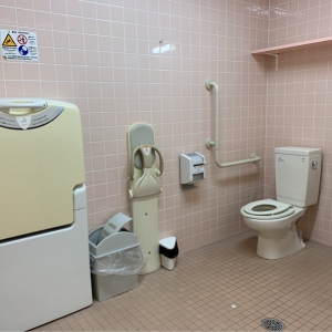 女性用トイレおむつ台