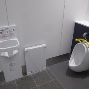 下北沢駅南西口トイレ(1F)のオムツ替え台情報 画像5