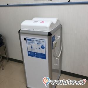 おむつ専用ゴミ箱は、電動で圧縮・密封するタイプになっています。