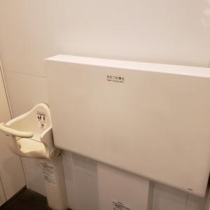 女子トイレ内に設置されています