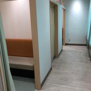 授乳室は個室3部屋のみ