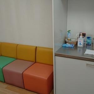 調乳設備と座席