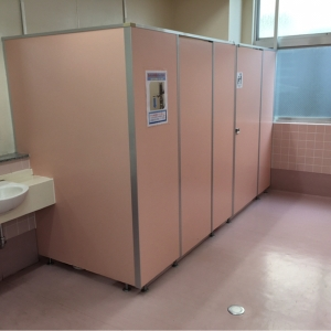 女性用トイレ ベビーチェア付きは1か所