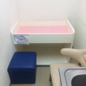 授乳室の中に、おむつ交換用台があります。