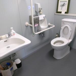 多目的トイレなので広々しています