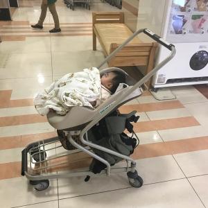 0歳3ヶ月の子供が乗れるベビーカーあります
