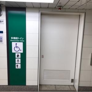 落合駅(B1)のオムツ替え台情報 画像3