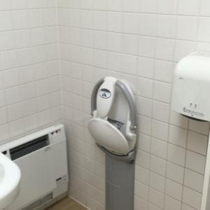 マックスバリュ 石川店(1階多目的トイレ)のオムツ替え台情報 画像2