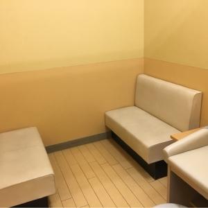 ベビー休憩室奥の授乳室