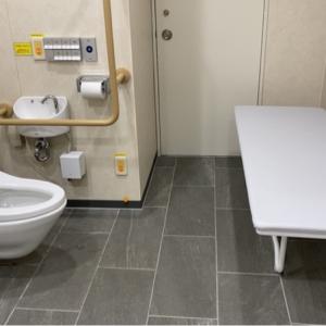 多目的トイレ 比較的新しく清潔でした