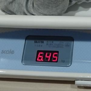 体重計は50g計です