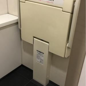 多目的トイレにオムツ台はないです。地下一階、地下二階の女子トイレの個室に一つオムツ台があります