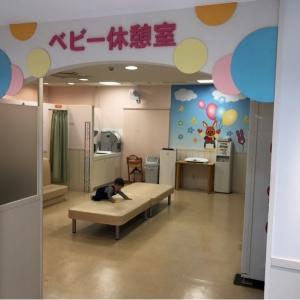 子供用トイレと別にベビー休憩室があります。