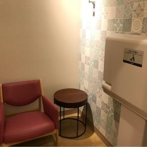 授乳室 中でおむつ替えもできて便利!ベビーカーも入れます