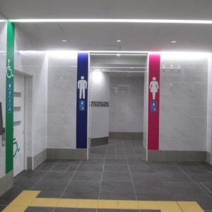 下北沢駅南西口トイレ(1F)のオムツ替え台情報 画像7