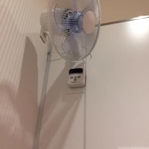 扇風機完備してます