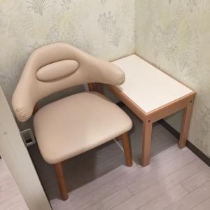 授乳室は個室でひとつ。