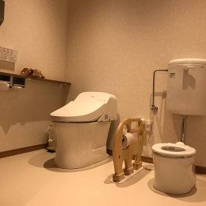 一階親子トイレ