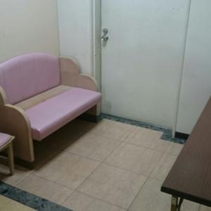 授乳室。ベビースケールあり。