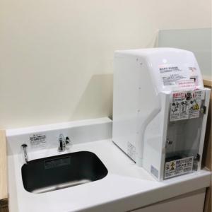 温水器と洗い場