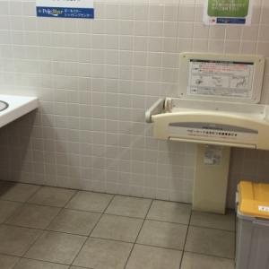 ポールスターショッピングセンター((2階ヨガスタジオ側女性用トイレ内))のオムツ替え台情報 画像1