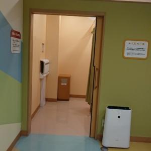 2019年10月授乳室入口