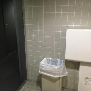 海遊館(5F 女子トイレ)のオムツ替え台情報 画像2