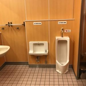 女子トイレ内に子供用トイレあり