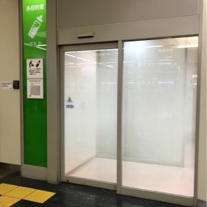 多目的室入口(左横のインターホンを押して利用したい旨を伝えると、自動ドアがガーッと開きます)