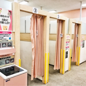 イオン市川妙典店(3階 赤ちゃん休憩室)の授乳室・オムツ替え台情報 画像3