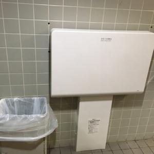 海遊館(5F 女子トイレ)のオムツ替え台情報 画像1