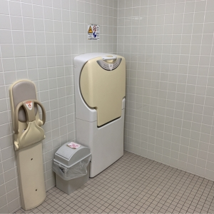 男性用トイレおむつ台