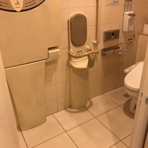 玉川高島屋本館(5階 女子トイレ)のオムツ替え台情報 画像1