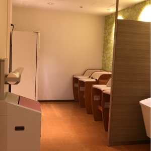 個室の授乳室2