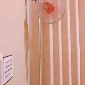 夏場は扇風機が設備されて涼しく授乳可能(2F)