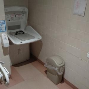イトーヨーカドー 綱島店(多目的トイレ B1F)のオムツ替え台情報 画像1