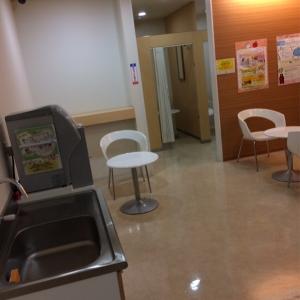 メイン水道とテーブル2つと椅子は3つです。