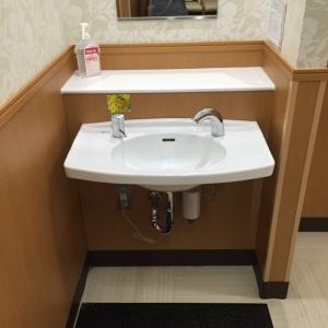 授乳室の洗面台