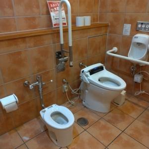 多目的トイレ。お子さん用トイレ有。
