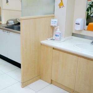 シンク・手洗い場も完備