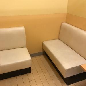 2019年現在の授乳室ベンチの配置
