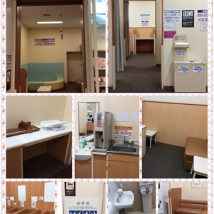 イオン鹿児島店(3F)の授乳室・オムツ替え台情報 画像2