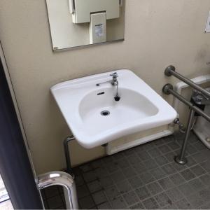一ツ木公園(多目的トイレ)のオムツ替え台情報 画像1