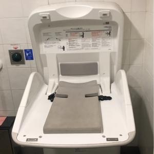 高田馬場駅(JR改札内女子トイレ)のオムツ替え台情報 画像2